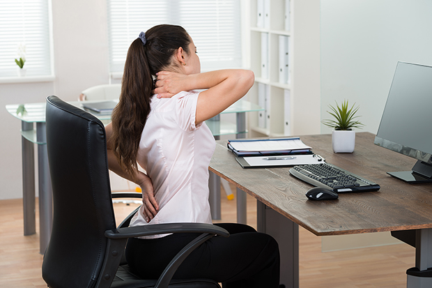 woman and posture, how it affects your body