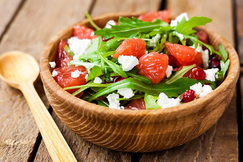 Pomegranate Grapefruit salad recipe