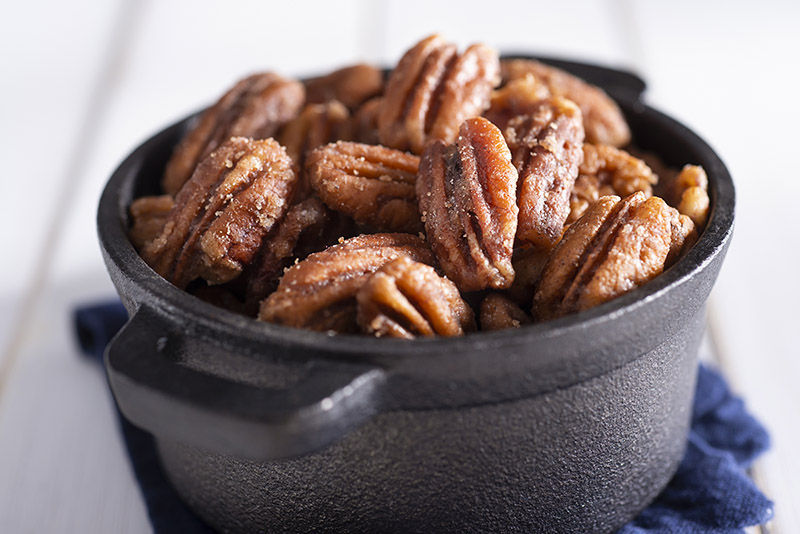 holiday spiced pecans recipe