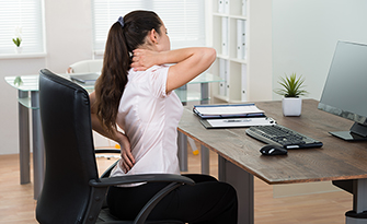 woman and posture, how it affects your body sm