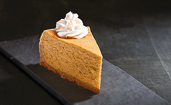 single piece of pie, light pumpkin pie recipe sm