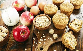 Apple cinnamon oatmeal muffin recipe sm