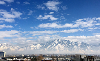 View of the Salt Lake City Skyline with poor air quality, why you should care sm