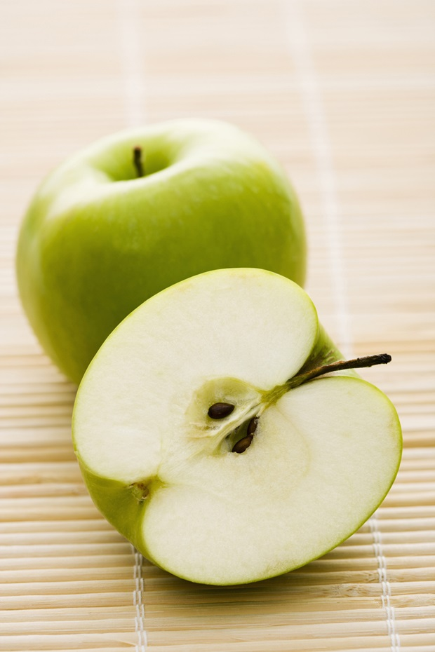 Cut Green Apple