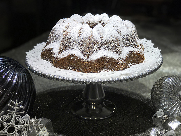 Light gingerbread spice cake by Chef Mary
