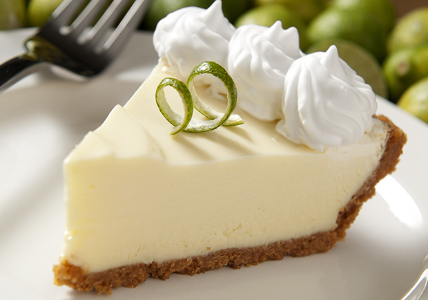 Light and delicious key lime pie recipe from Chef Mary