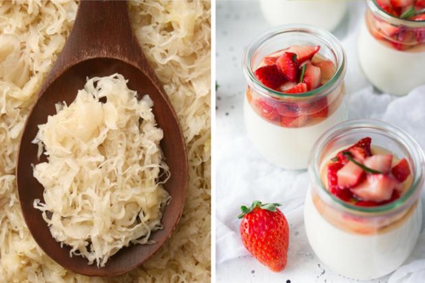 Should you be pro, probiotics? Sauerkraut and yogurt. Benefits of probiotics for your health.