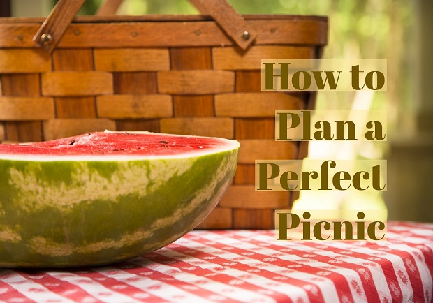Picnic basket and watermellon, how to make the perfect picnic