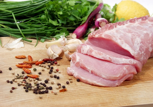 Pork tenderloin and seasonings, helathier recipes with Chef Mary