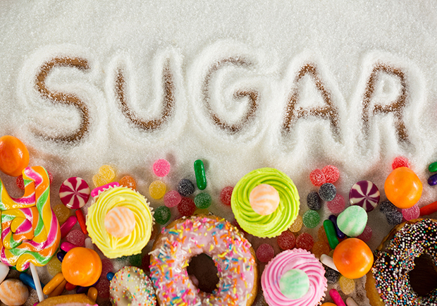 sugar, donuts, cakes, candies. How can you cut down on added sugars