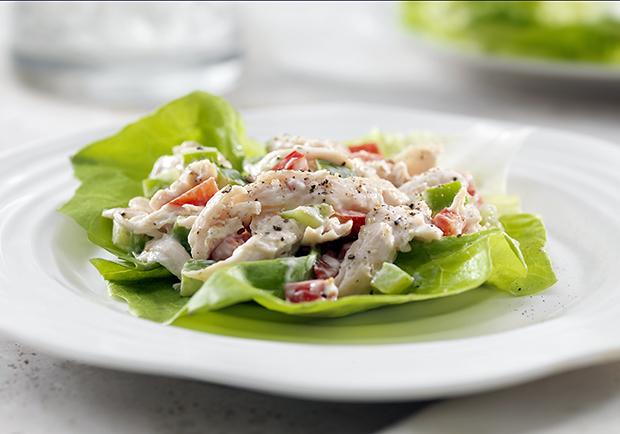 Chicken salad with avocado recipe, healthy recipes