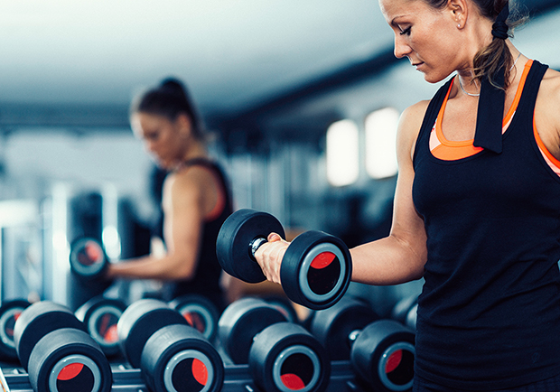 Woman-Weight-lifting-for-heart-health