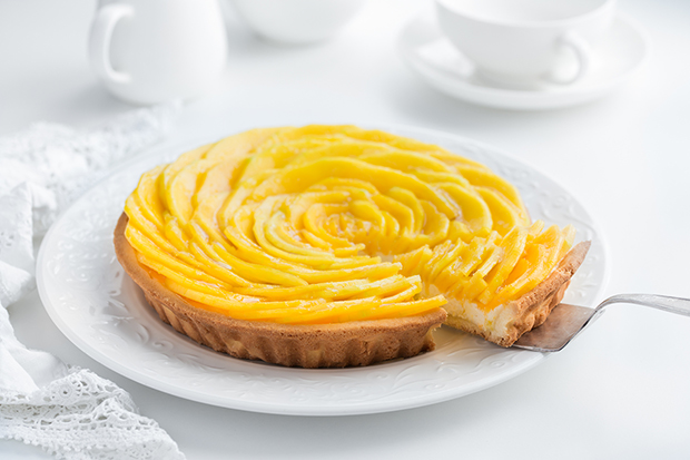 mango and cream cheese tart recipe