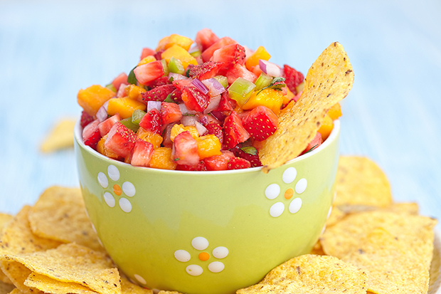 Strawberry mango salsa recipe lg