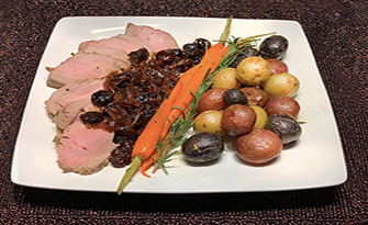 Recipe for Roasted Potatoes and Pork Tenderloin, Chef Mary
