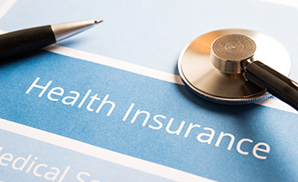 Health Insurance and stethascope image
