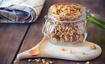 Vanilla Almond Granola, Healthy Recipes