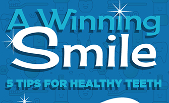 infographic snippet, tips for healthy teeth sm