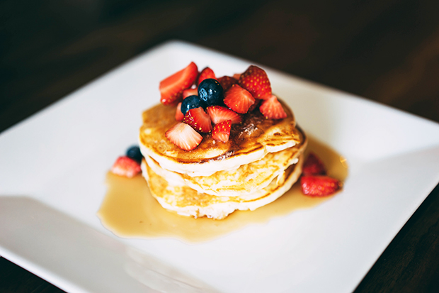 Use fruit to put on top of pancakes