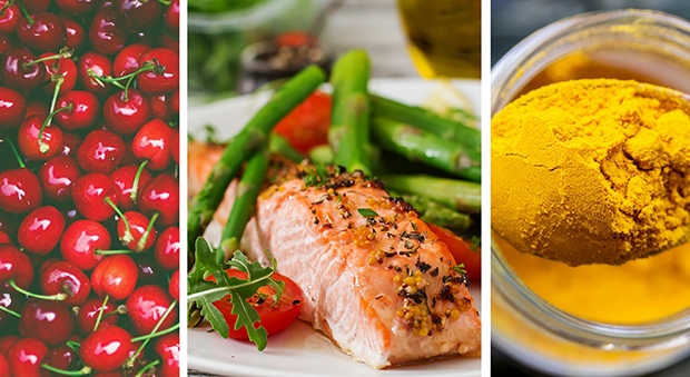 Cherries, salmon and tumeric, foods that actually help alleviate arthritis