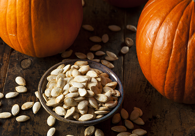 Pumpkins and Pumpkin seeds, use this recipe for roasted pumpkin seeds