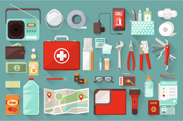 How to prepare for an earthquake, preparation kit